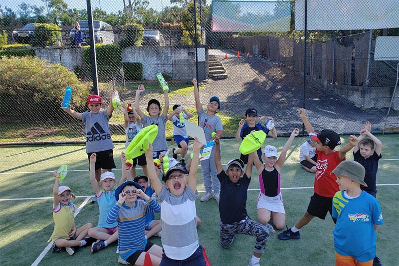 School Holiday Kids Tennis Camp