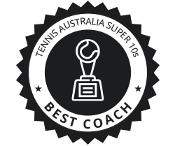 Tennis Australia Super 10s Best Coach