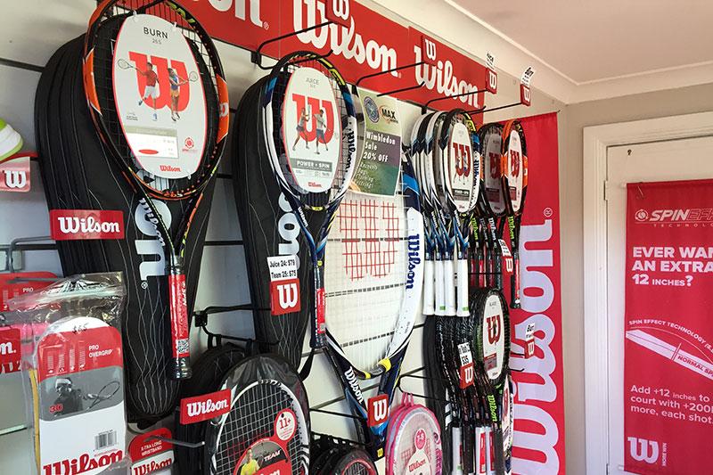 Tennis Racquet Restring
