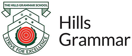 The Hills Grammar School Logo