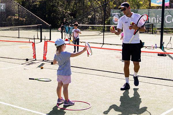 Pre-School Tennis Lessons